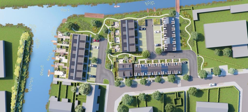 FH Projecten ontwikkelt 36 nieuwbouw woningen in Naarden
