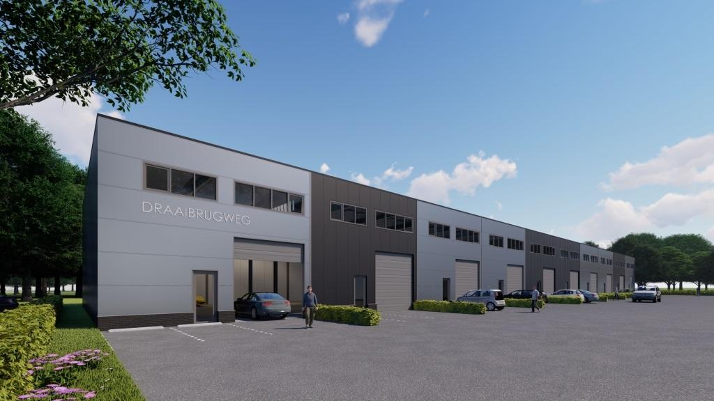 Draaibrugweg 21 – 39 Almere nieuwbouw bedrijfshal & kantoor
